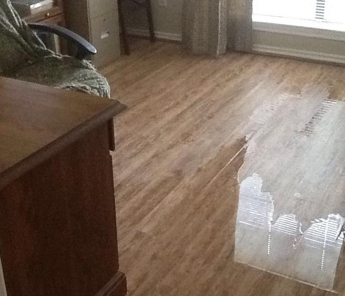 Standing Water In The Home Office In Saginaw, TX