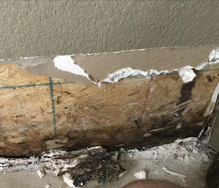 Mold Remediation Mold damage found in this residential home in Ft. Worth, TX