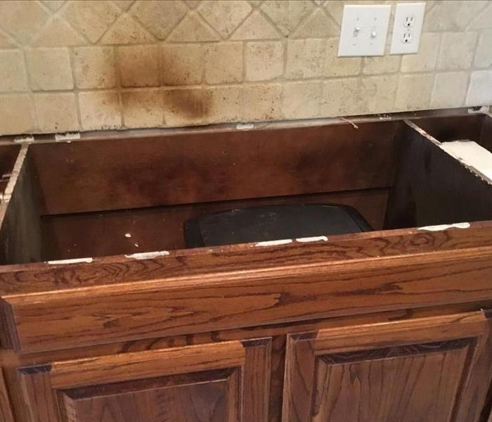 Fire Damage Smoke and Soot damage causes odor in Rhome, TX
